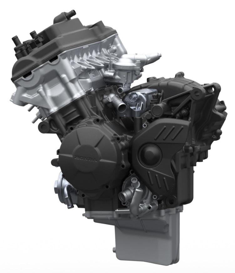 Bolton WorksSolid Works Assembly 2009 Honda CBR600RR Engine (2)