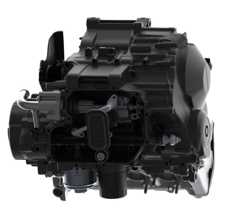 Bolton WorksSolid Works Assembly 2009 Honda CBR600RR Engine (6)