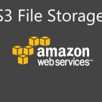 AWS S3 File Storage
